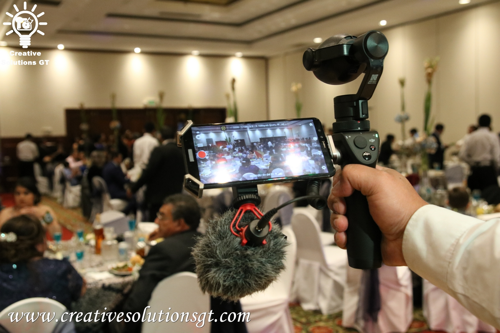 servicio de video para eventos en guatemala